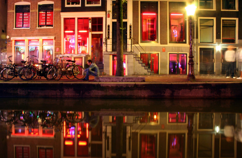 Red Light District Teleport Hotel